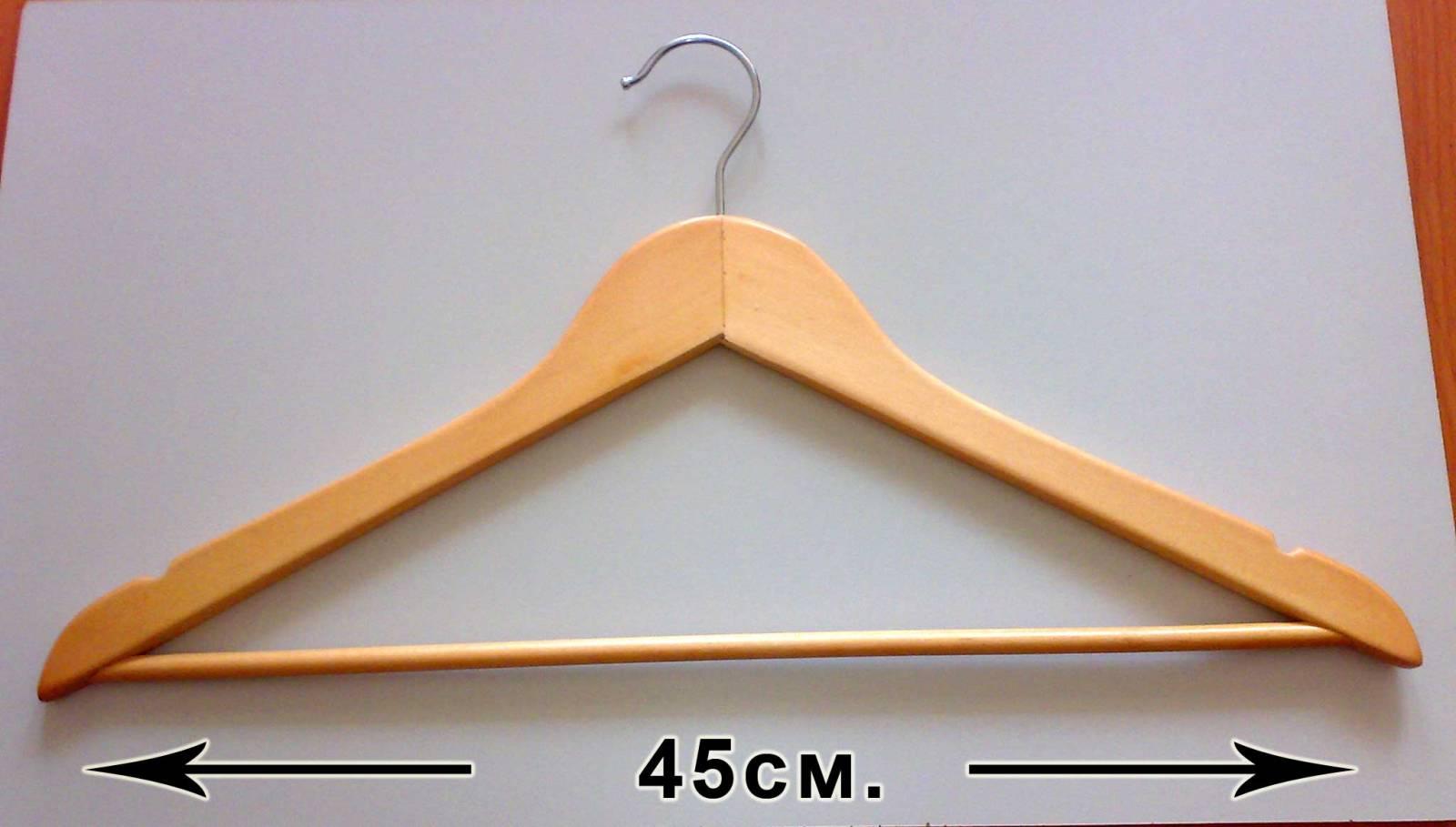 Вешалки для одежды своими руками из дерева